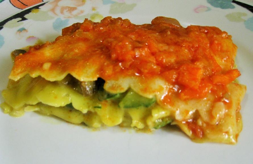 Lasagna ortolane
