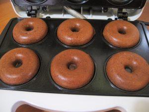 donuts vegani al cioccolato