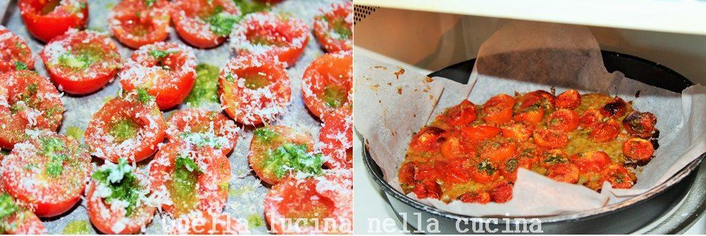 spaghetti pomodori gratinati