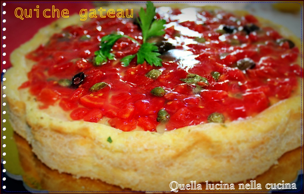 quiche gateau
