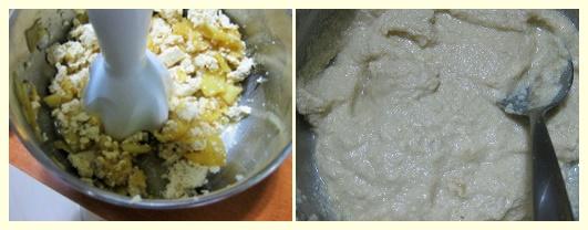 dolce al tofu e mele