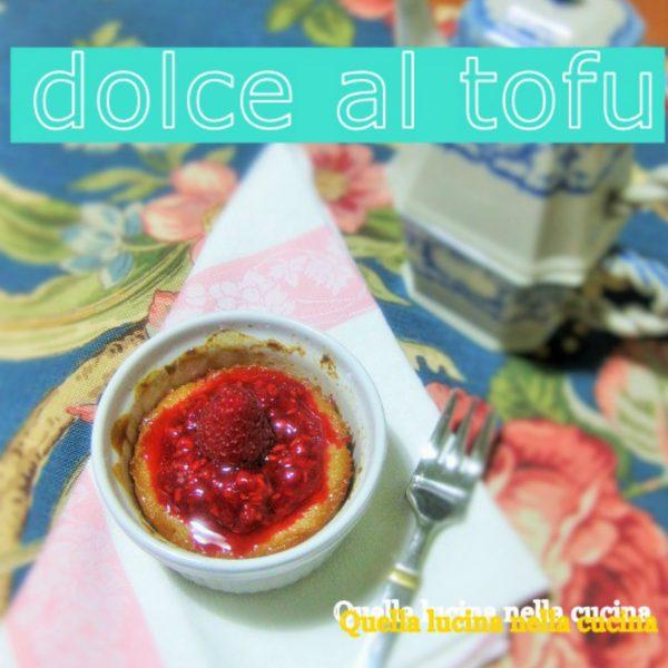 dolce di tofu e mele