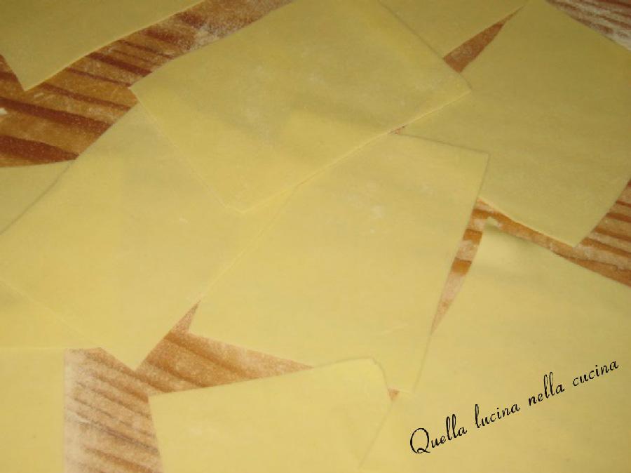 Ricetta Lasagne Fatte In Casa.Impasto Lasagne Senza Uova Quella Lucina Nella Cucina