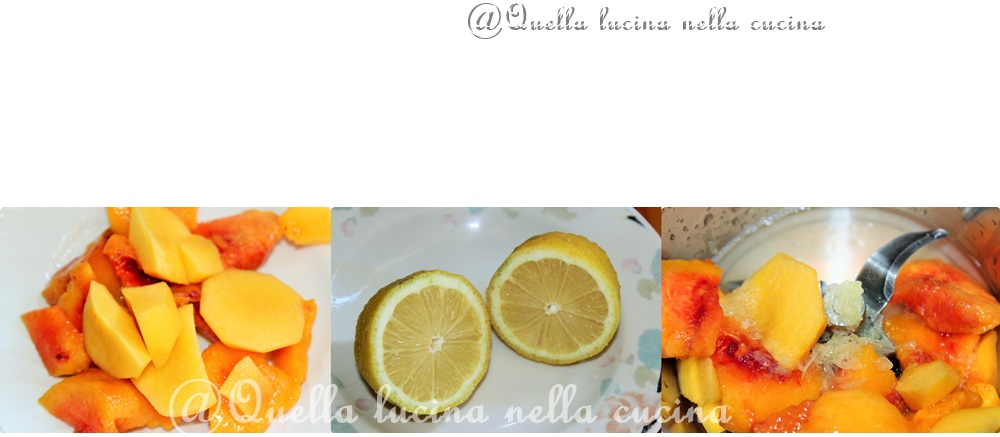 Sciroppo mille usi fresh peach lemon