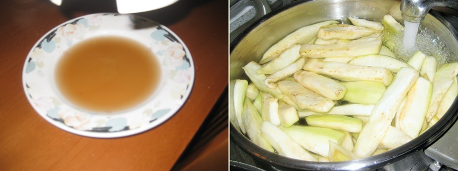 Melanzane sottòlio / Eggplant in oil