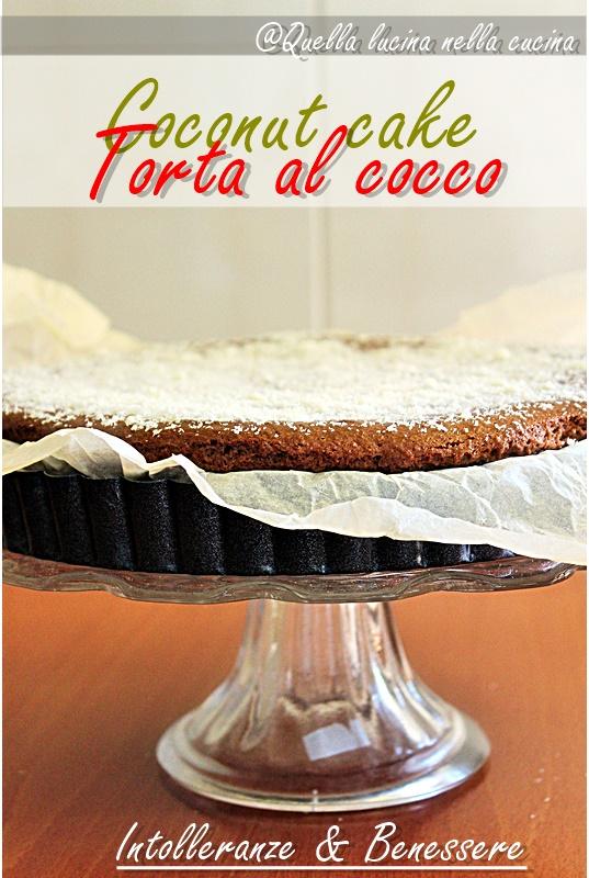 torta al cocco coconut cake