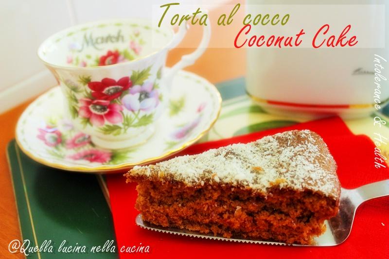 torta al cocco coconat cake