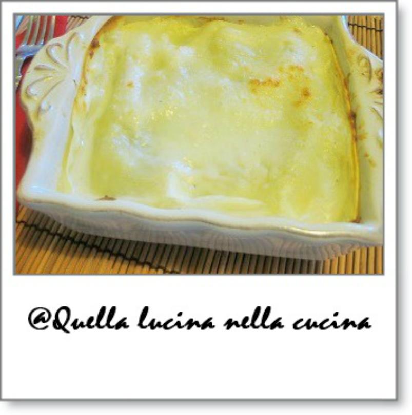 lasagne al radicchio