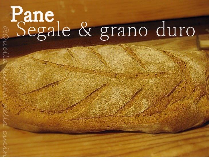 Pane di segale e grano duro