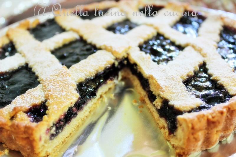 Crostata di mirtilli- blueberry pie