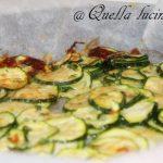 contorno sfizioso di zucchine
