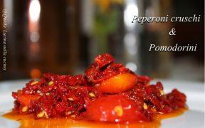 Peperoni cruschi con pomodori