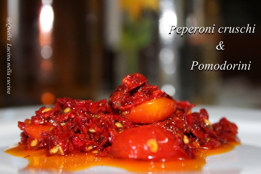 peperoni creuschi e pomodorini inverali