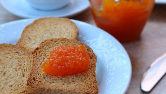 confettura di pompelmo e carote