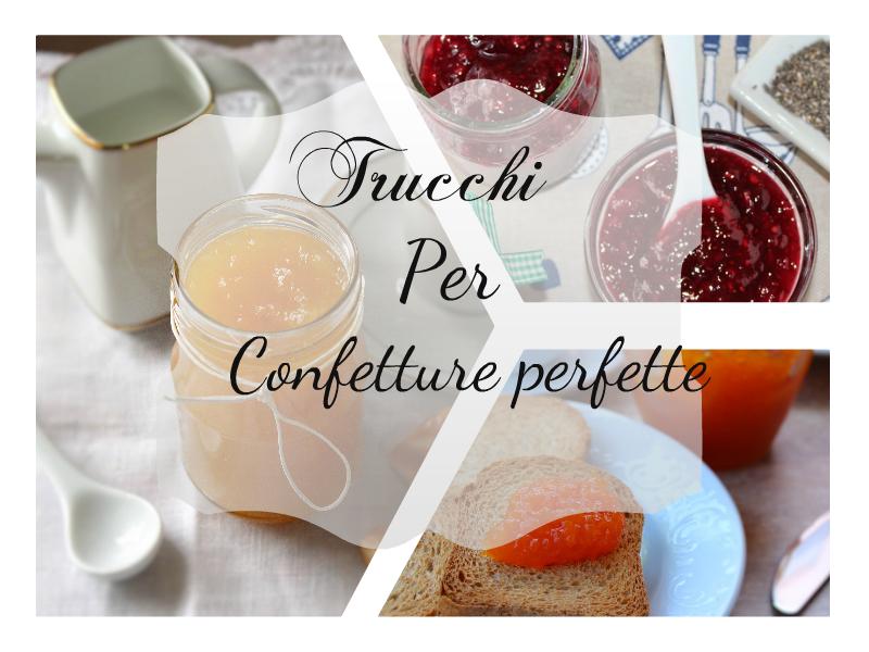 Confettura ricetta base