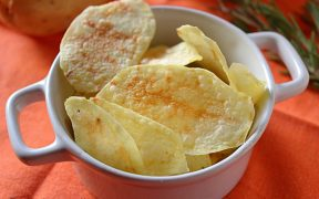 Patatine - chips al microonde