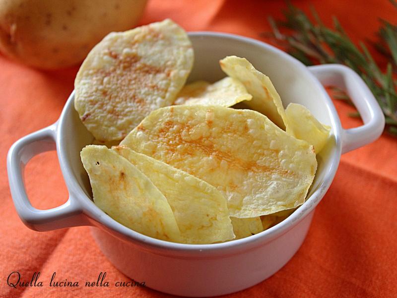 Patatine - chips al microonde