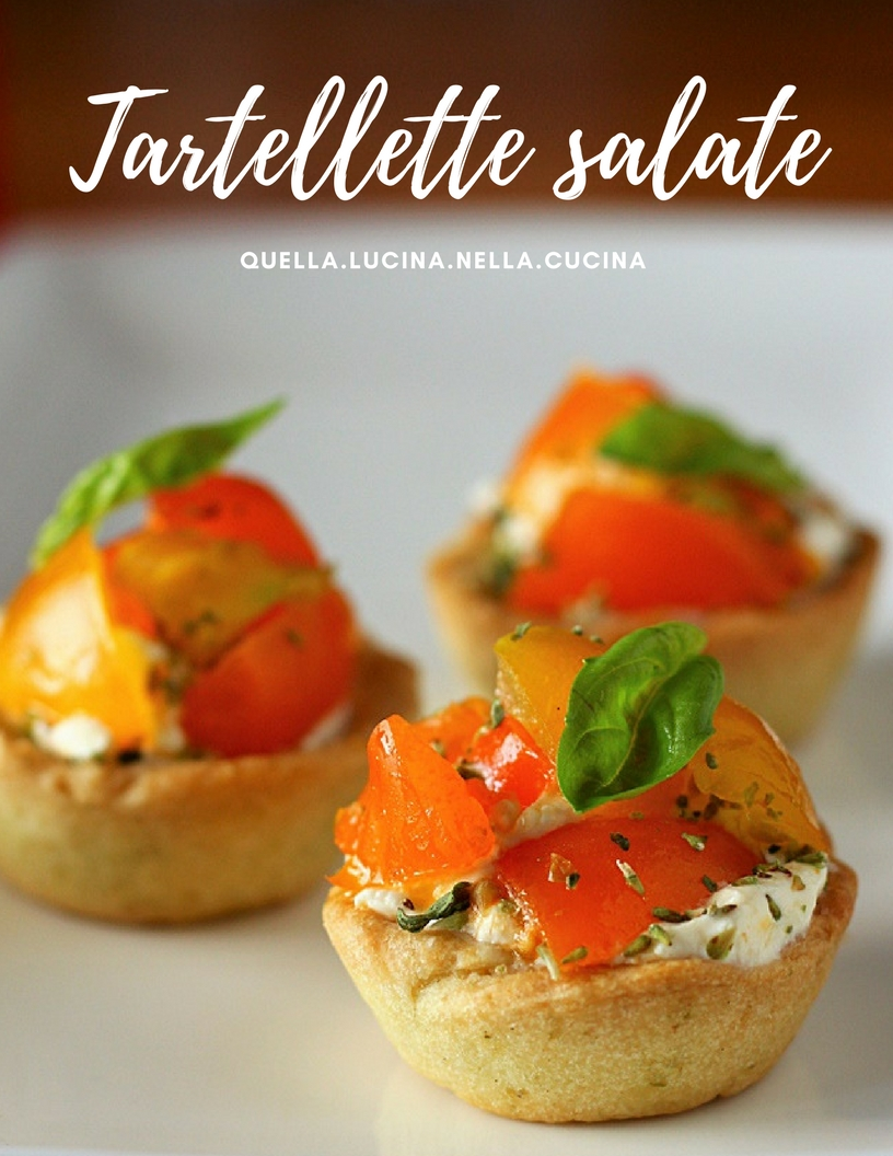 tartellette salate