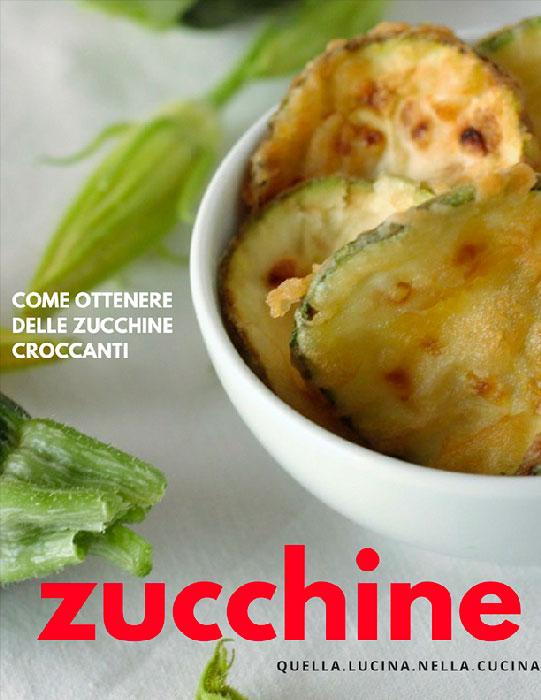 zucchine fritte a rondelle