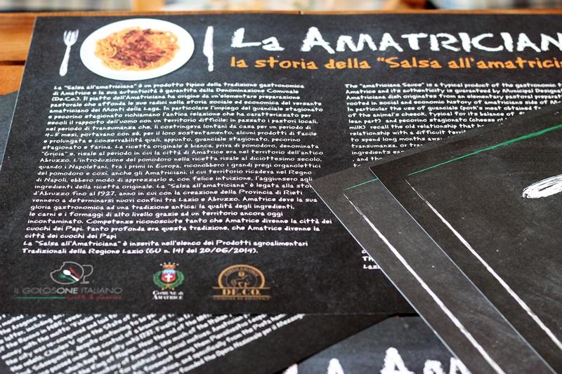 salsa all'amatriciana