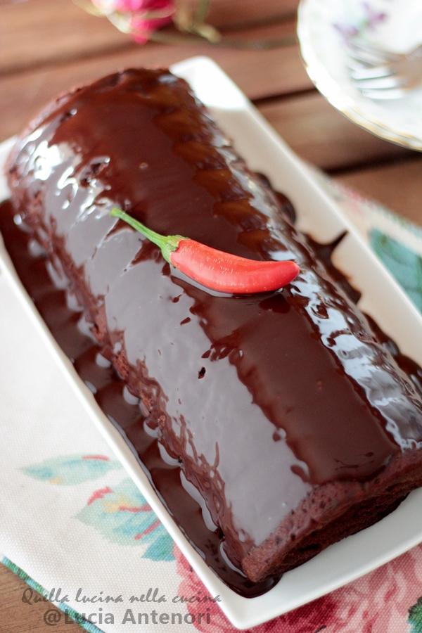 Dolce al cioccolato afrodisiaco piccante