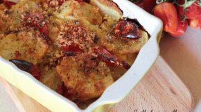 Patate al forno arraganate