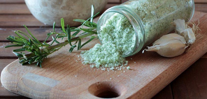 sale aromatizzato per arrosti e patate