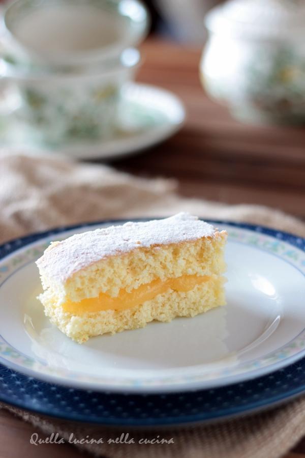 torta all'arancia senza lattosio e senza glutine