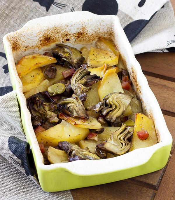 patate con carciofi Basilicata