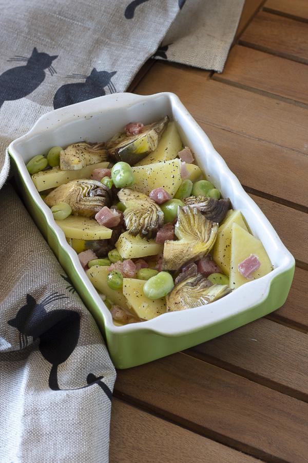 patate con carciofi e fave Basilicata