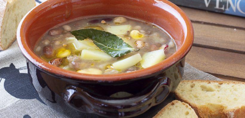 zuppa di legumi Basilicata