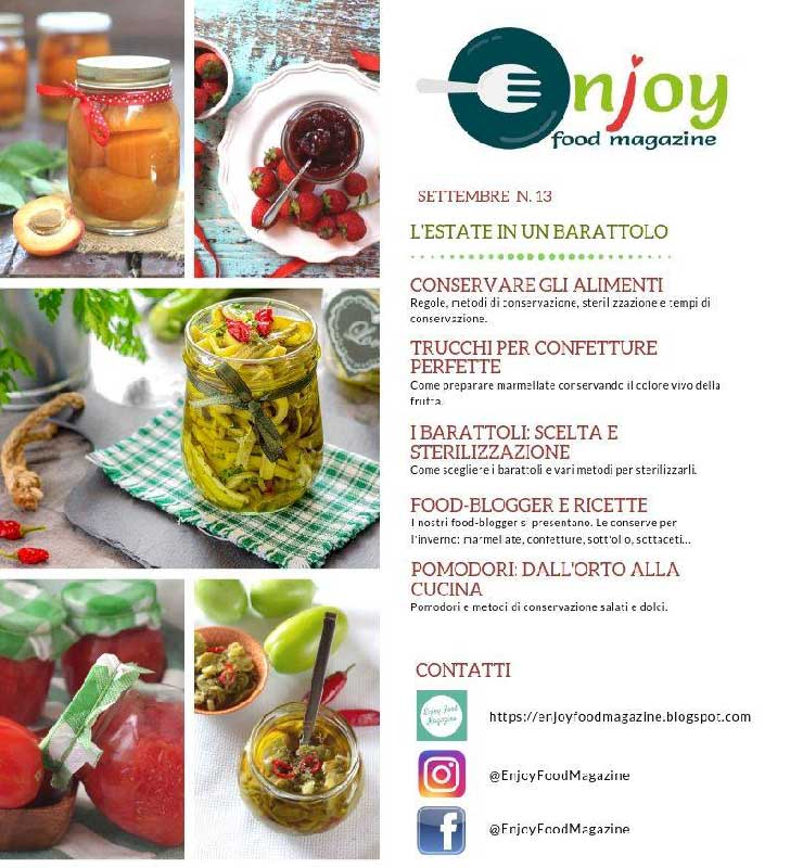 Enjoy Food Magazine