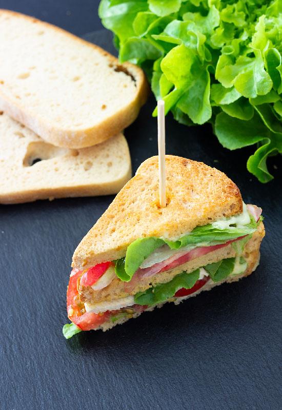club sandwich senza glutine