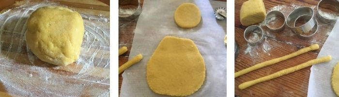 Biscotti di Pasqua lucani: la pupa o la scarcedd