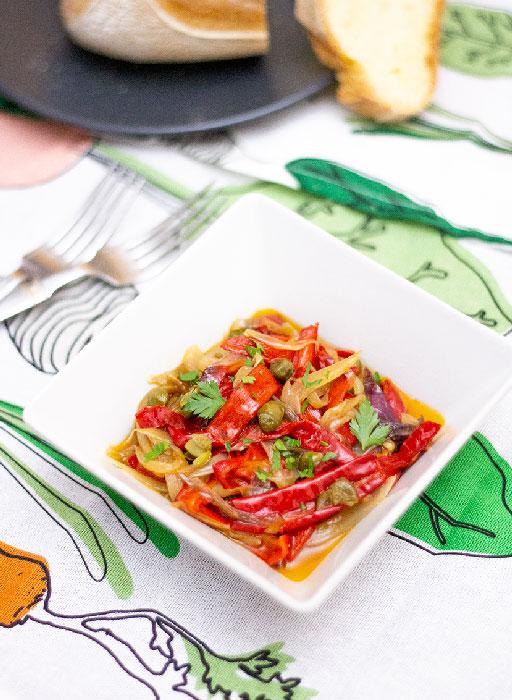 peperoni cornetto in padella